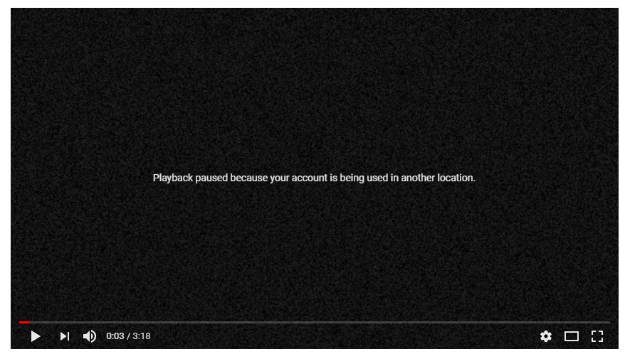 YouTube Error Because of Free Trial of Google Play Music